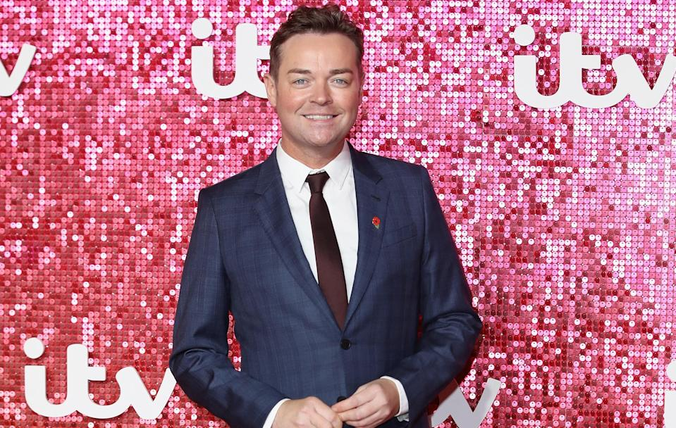 Stephen arrives at the ITV Gala held at the London Palladium on November 9, 2017 in London, England. (Getty)