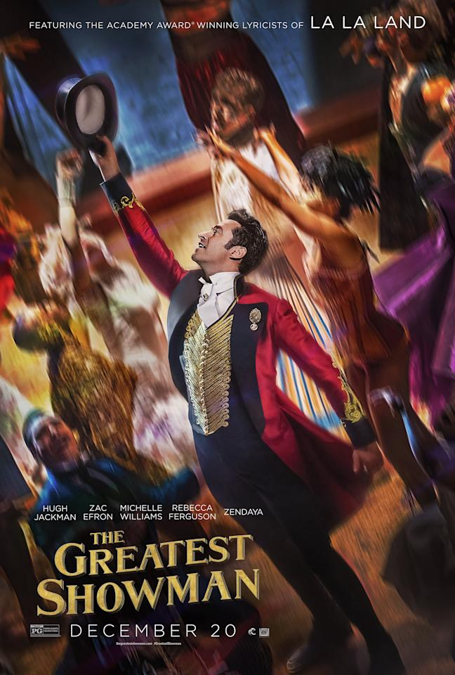 <p><em>The Greatest Showman </em>is Broadway veteran Jackman's first film musical since his Oscar-nominated performance as Jean Valjean in <em>Les Misérables. </em>(Image: 20th Century Fox) </p>