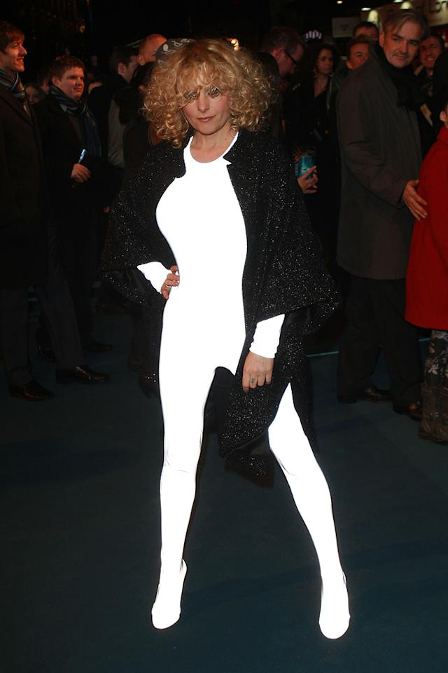 """<a href=""""http://movies.yahoo.com/movie/contributor/1809162133"""">Alison Goldfrapp</a> arrives at the London premiere of <a href=""""http://movies.yahoo.com/movie/1810096458/info"""">TRON: Legacy</a> on December 5, 2010."""