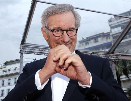 "Director Steven Spielberg, Jury President of the 66th Cannes Film Festival, arrives for the screening of the film ""Inside Llewyn Davis"" in competition during the 66th Cannes Film Festival"