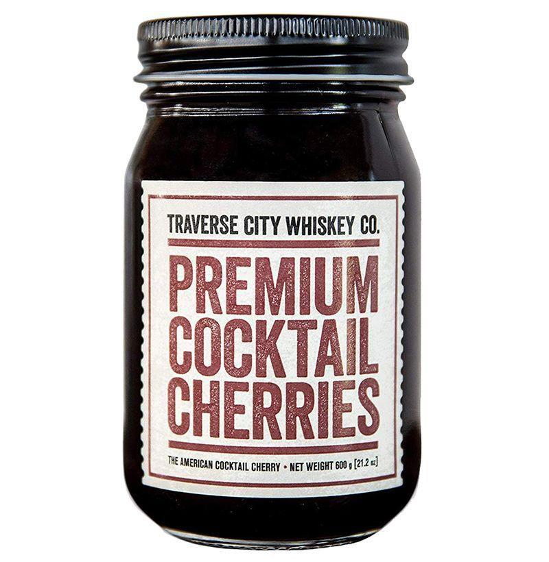 """<p><strong>Traverse City Whiskey Co.</strong></p><p>amazon.com</p><p><strong>$19.95</strong></p><p><a href=""""https://www.amazon.com/dp/B077YDC48D?tag=syn-yahoo-20&ascsubtag=%5Bartid%7C10054.g.3047%5Bsrc%7Cyahoo-us"""" rel=""""nofollow noopener"""" target=""""_blank"""" data-ylk=""""slk:Buy"""" class=""""link rapid-noclick-resp"""">Buy</a></p><p>Cocktail cherries are a must for many whiskey cocktails that get made at home, like Manhattans. Especially Manhattans. </p>"""