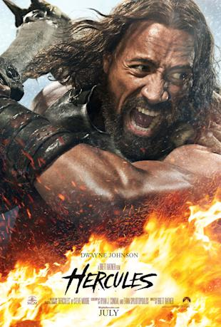 Dwayne Johnson in 'Hercules' (Paramount Pictures)