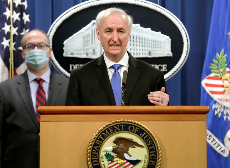 Justice Department makes announcement on opioid settlement in Washington