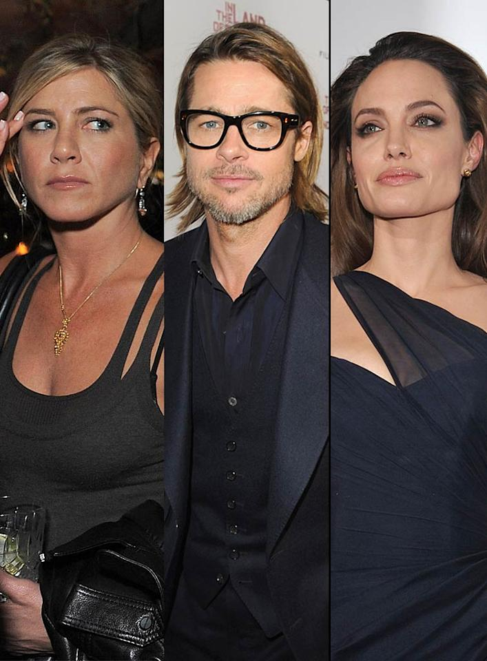 "Brad Pitt recently ""backed out"" of an interview with E! Television's ""Chelsea Lately"" because both his partner Angelina Jolie AND his ex-wife Jennifer Aniston ""blew a gasket,"" reports the <i>National Enquirer</i>. For why both Jolie was ""furious"" and Aniston gave Pitt ""an earful"" for doing the talk show, see what Chelsea Handler's people and E! spill to <a target=""_blank"" href=""http://www.gossipcop.com/brad-pitt-chelsea-lately-interview-canceled-handler-appearance-angelina-jolie-jennifer-aniston/"">Gossip Cop</a>."