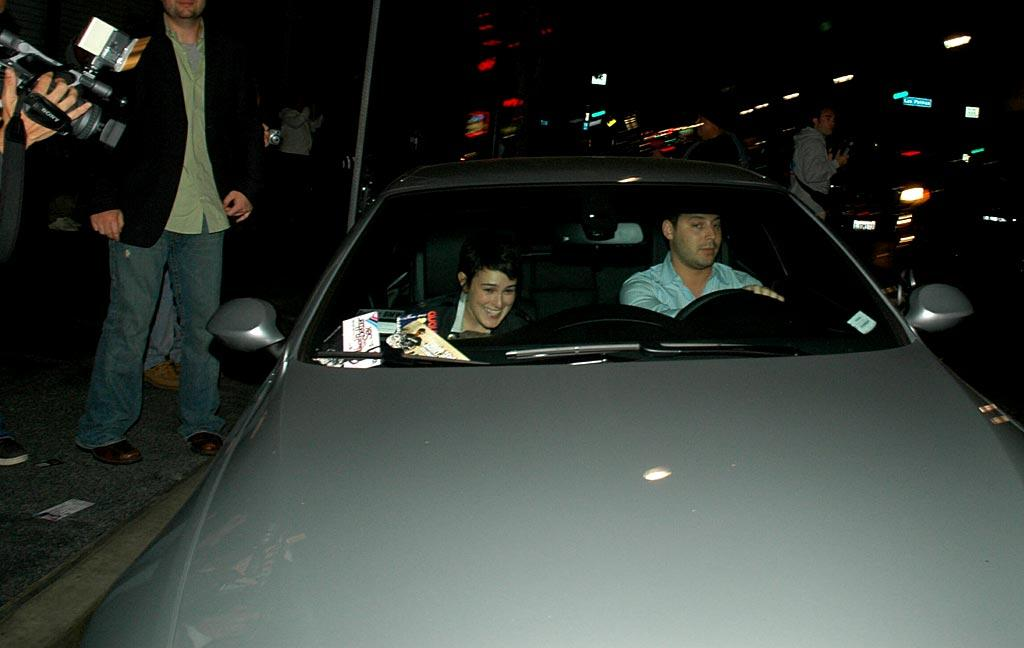 "Rumer has a giggle-fit as she leaves Parc nightclub in Hollywood. G Hollywood/<a href=""http://www.splashnewsonline.com"" target=""new"">Splash News</a> - June 9, 2007"