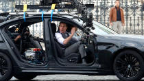 "Tom Cruise's second action spectacular of the year will see him once again teaming with Christopher McQuarrie to portray Ethan Hunt. Very little is known about the plot at this stage, but all of the usual suspects are back, including recent additions Rebecca Ferguson and Vanessa Kirby. <a href=""https://uk.movies.yahoo.com/mission-impossible-7-filming-september-coronavirus-shutdown-095600680.html"" data-ylk=""slk:COVID-19 couldn't stop them;outcm:mb_qualified_link;_E:mb_qualified_link;ct:story;"" class=""link rapid-noclick-resp yahoo-link"">COVID-19 couldn't stop them</a> getting this made, so we don't rate the chances of Esai Morales's villain. We wouldn't want to end up on the wrong side of a <a href=""https://uk.movies.yahoo.com/tom-cruise-epic-mission-impossible-rant-justified-102020370.html"" data-ylk=""slk:Cruise rant;outcm:mb_qualified_link;_E:mb_qualified_link;ct:story;"" class=""link rapid-noclick-resp yahoo-link"">Cruise rant</a>. (Credit: Samantha Zucchi/Insidefoto/Mondadori Portfolio via Getty Images)"