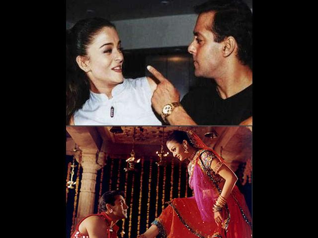 "This whole episode took another leap in 2002, when Salman came onto the sets of Chalte Chalte. Furious actor ""reportedly"" hit Aishwarya and pushed her on the ground and destroyed the sets. As a result of all this high-end drama, Aishwarya was sacked from the film and Rani Mukerji was roped in.  Aishwarya in her interview to Times of India said, ""There were times when Salman got physical with me, luckily without leaving any marks. And I would go to work as if nothing had happened."""