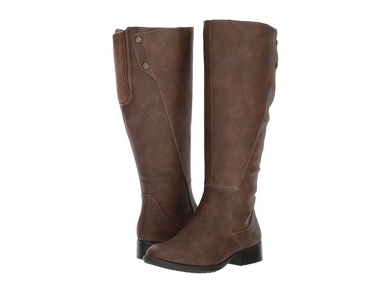 "For a wide-calf option at a great price look no further. These feature an elastic gore at the top of the shaft and full zip-closure on the side so you don't have to struggle to slide these on and off. (Photo: Zappos) <a href=""https://fave.co/31CGxt5""><strong>SHOP IT: </strong></a><strong>$70 (was $90), </strong><a href=""https://fave.co/31CGxt5""><strong>zappos.com</strong></a>"
