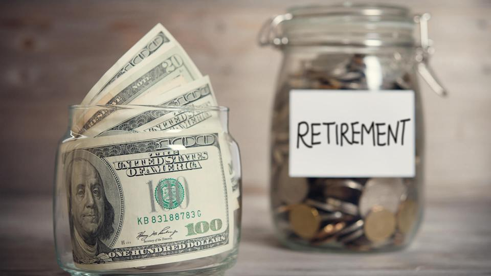 retirement savings concept