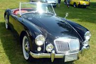 <p>The MGA marked a new era for MG. With a modern, lightweight design and attractive body, the roadster was an immediate success, with over 100,000 ultimately being produced.</p>