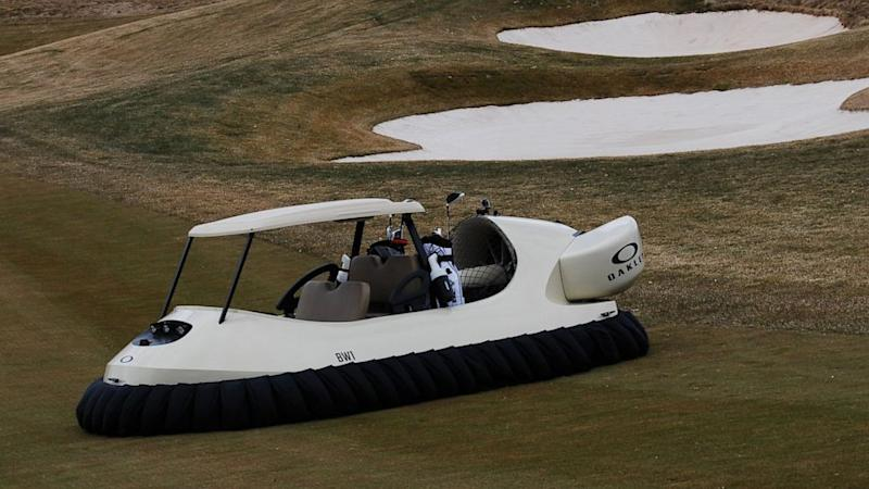 First Hovercraft Golf Carts Are Ready to Fly on
