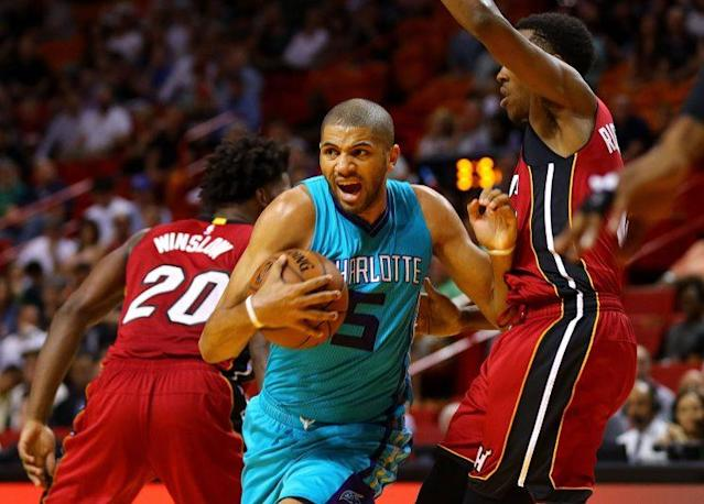 Nicolas Batum embraced a bigger role with Charlotte. (Getty Images)