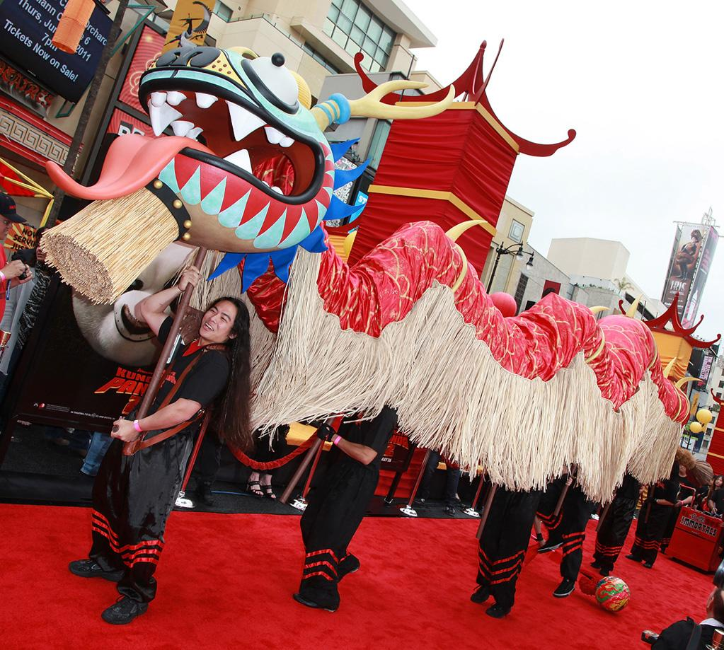 "The Los Angeles premiere of <a href=""http://movies.yahoo.com/movie/1810090593/info"">Kung Fu Panda 2</a> on May 22, 2011."