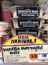 <p>One package of Trader Joe's vanilla overnight oats and you'll be hooked. Make it the night before, add some toppings, and breakfast is done! Trust us when we say, you'll be heading back to the store for more.</p>