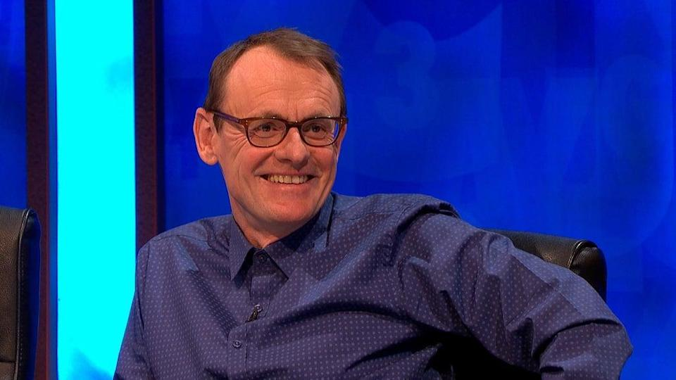 Sean Lock on an episode of 8 Out of 10 Cats Does Countdown. The comedian has died from cancer at the age of 58 (Channel 4/PA) (PA Media)
