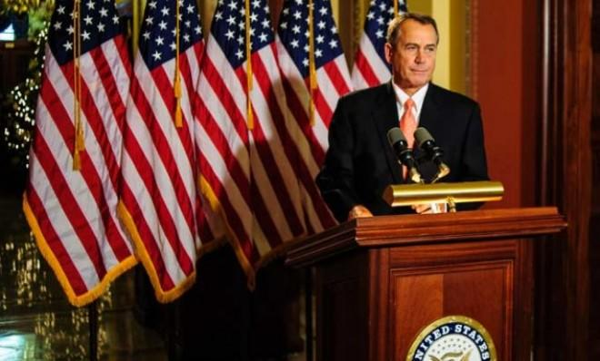 House Speaker John Boehner may face a coup after voting in favor of the fiscal cliff fix.