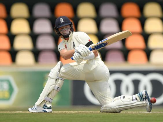 Ollie Pope in action against South Africa A in Benoni (Getty Images)