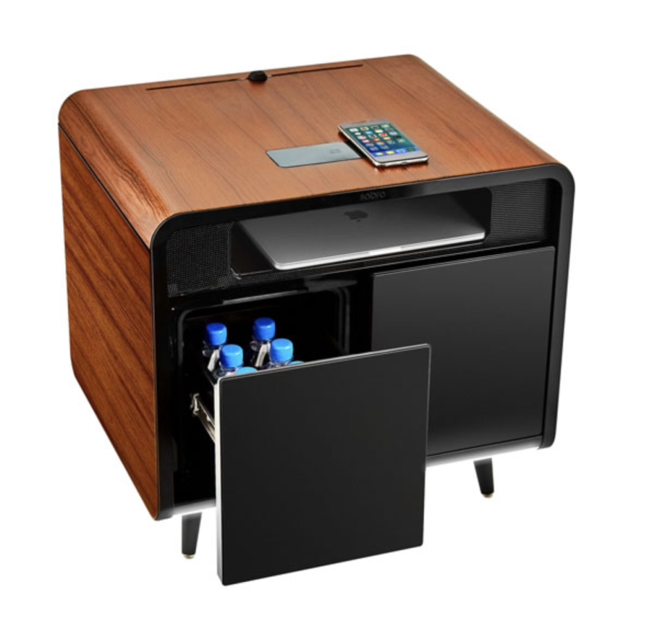 Sobro Smart Side Table with Thermoelectric Cooling Drawer - Best Buy Canada