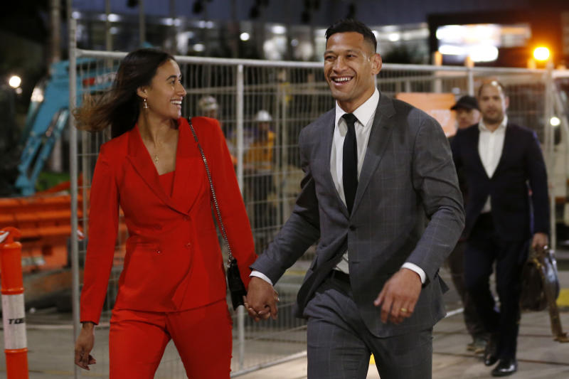 Investigation launched into 'disgusting' new Israel Folau drama