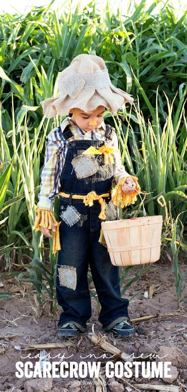 """<p>A floppy burlap hat is an adorable addition to a scarecrow costume. Even better? This one requires <em>zero</em> sewing. </p><p><strong>Get the tutorial at <a href=""""https://www.anightowlblog.com/easy-no-sew-scarecrow-costume/"""" rel=""""nofollow noopener"""" target=""""_blank"""" data-ylk=""""slk:A Night Owl Blog"""" class=""""link rapid-noclick-resp"""">A Night Owl Blog</a>. </strong></p><p><strong> <a class=""""link rapid-noclick-resp"""" href=""""https://www.amazon.com/Burlap-Runners-OVERLOCKED-Weddings-Decorations/dp/B077TQGZ71/ref=sr_1_1_sspa?tag=syn-yahoo-20&ascsubtag=%5Bartid%7C10050.g.28190286%5Bsrc%7Cyahoo-us"""" rel=""""nofollow noopener"""" target=""""_blank"""" data-ylk=""""slk:SHOP BURLAP FABRIC"""">SHOP BURLAP FABRIC</a></strong></p>"""