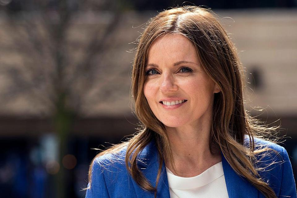 <p>44-year-old Halliwell announced her pregnancy in October last year [Photo: Getty] </p>