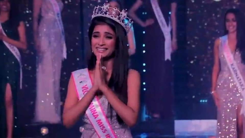 Manya, daughter of an auto driver, crowned Miss India runner-up