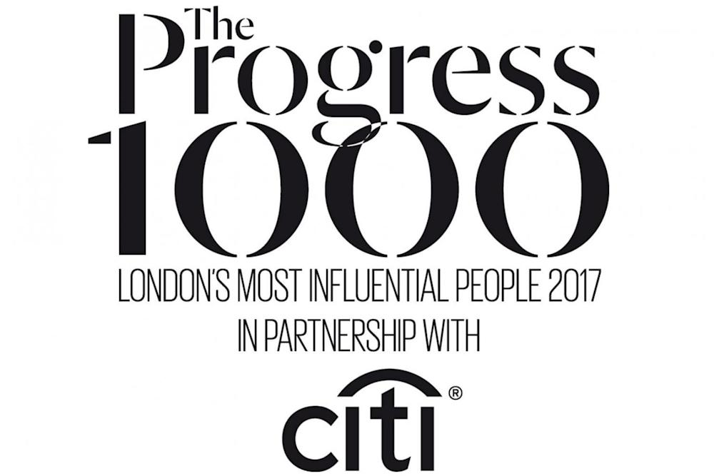 The Progress 1000, in partnership with Citi, and supported by Invisalign, is the Evening Standard's celebration of the people who make a difference to London life. #progress1000