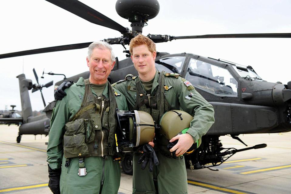 """<p>Word on the royal street is that Prince Harry's wild early aughts behavior was so out of control that Prince Charles hired communications chief Paddy Harveson to act as his """"minder"""" during a trip to Africa. His job? To <a href=""""http://www.dailymail.co.uk/columnists/article-259757/The-games-Harry.html"""" rel=""""nofollow noopener"""" target=""""_blank"""" data-ylk=""""slk:reportedly"""" class=""""link rapid-noclick-resp"""">reportedly</a> help Harry avoid awkward headlines. Yeah...that didn't exactly go as planned.</p>"""