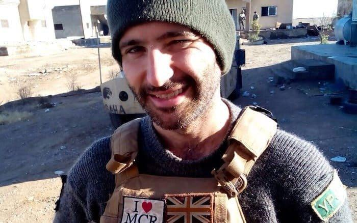 Daniel Burke volunteered to fight against Isil in Syria
