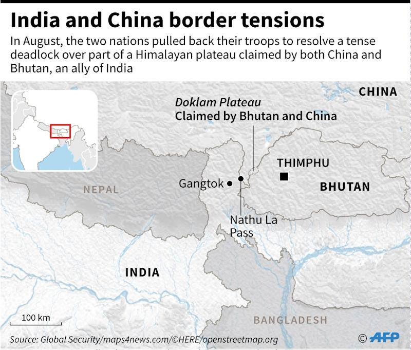 India and China border tensions