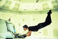 """<p>The first of seven movies—and there's an eighth on the way!—introduces us to Tom Cruise's famous character Ethan Hunt, an American agent suspected of being disloyal. Ethan sets out to clear his name by finding the spy who is responsible for his tainted reputation…without the help of his organization.</p> <p><a href=""""https://www.amazon.com/Mission-Impossible-Tom-Cruise/dp/B000X4IRE4"""" rel=""""nofollow noopener"""" target=""""_blank"""" data-ylk=""""slk:Available to rent on Amazon Prime Video"""" class=""""link rapid-noclick-resp""""><em>Available to rent on Amazon Prime Video</em></a></p>"""