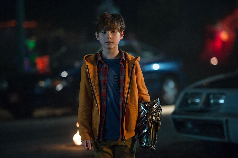 Jacob Tremblay in <i>The Predator</i> (20th Century Fox)