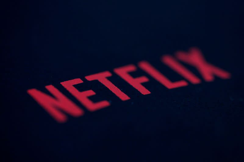 FILE PHOTO: An illustration photo shows the logo of Netflix, the American provider of on-demand internet streaming media, in Paris