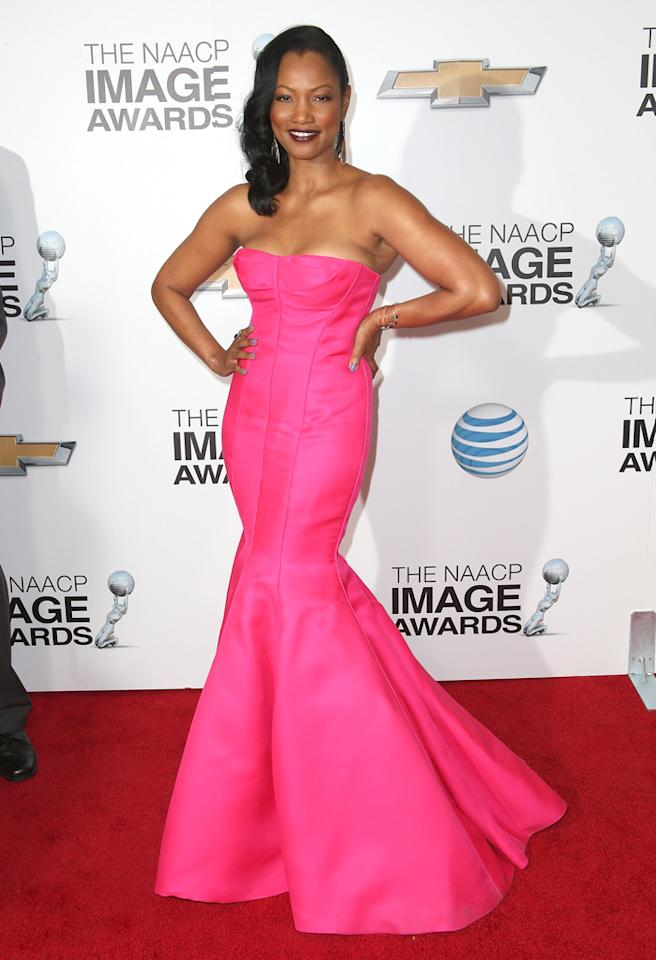 LOS ANGELES, CA - FEBRUARY 01: Actress Garcelle Beauvais attends the 44th NAACP Image Awards at The Shrine Auditorium on February 1, 2013 in Los Angeles, California. (Photo by Frederick M. Brown/Getty Images for NAACP Image Awards)
