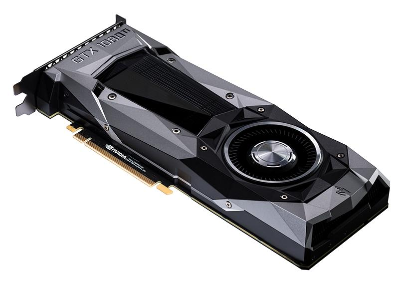 The familiar faceted design makes a return here as well. (Image Source: NVIDIA)