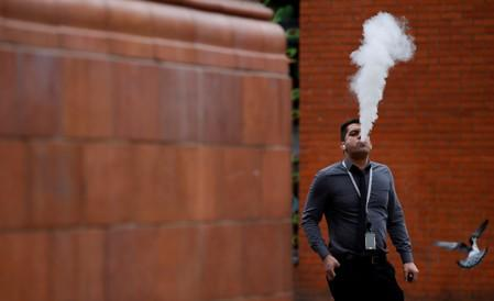 CDC flags one death and nearly 200 cases of lung illnesses in U.S, possibly tied to vaping