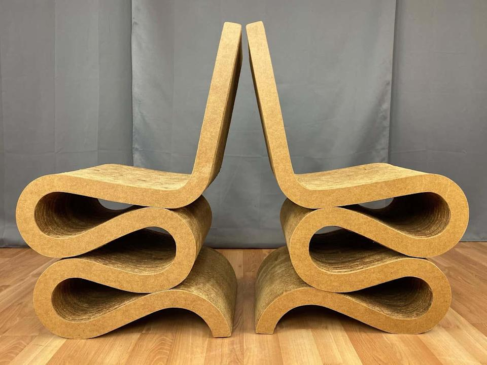 Frank Gehry's Wiggle Chairs