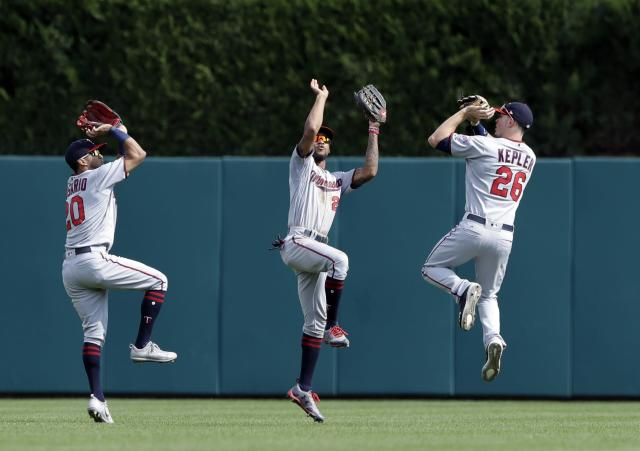 Byron Buxton and the rest of the Twins outfield will need to prove 2017 was no fluke. (AP Photo)