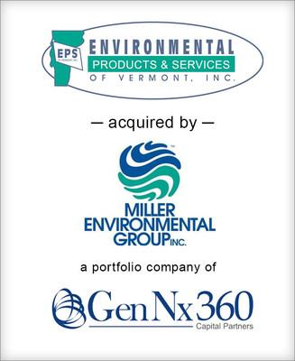 """Brown Gibbons Lang & Company (""""BGL"""") is pleased to announce the sale of Environmental Products & Services of Vermont, Inc. (""""EPS"""") to Miller Environmental Group (""""MEG""""). BGL's Environmental & Industrial Services team served as the exclusive financial advisor to EPS in the transaction."""