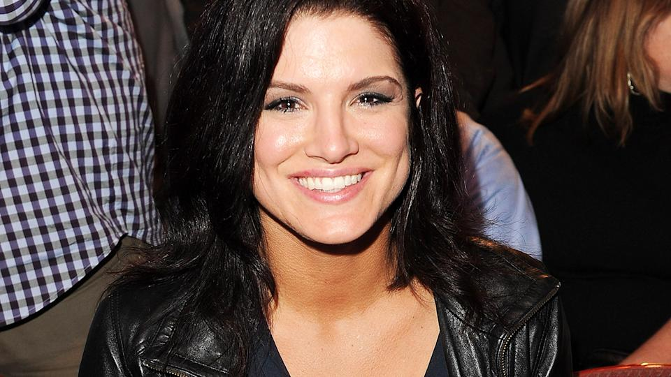 Gina Carano, pictured here at a UFC event in 2011.
