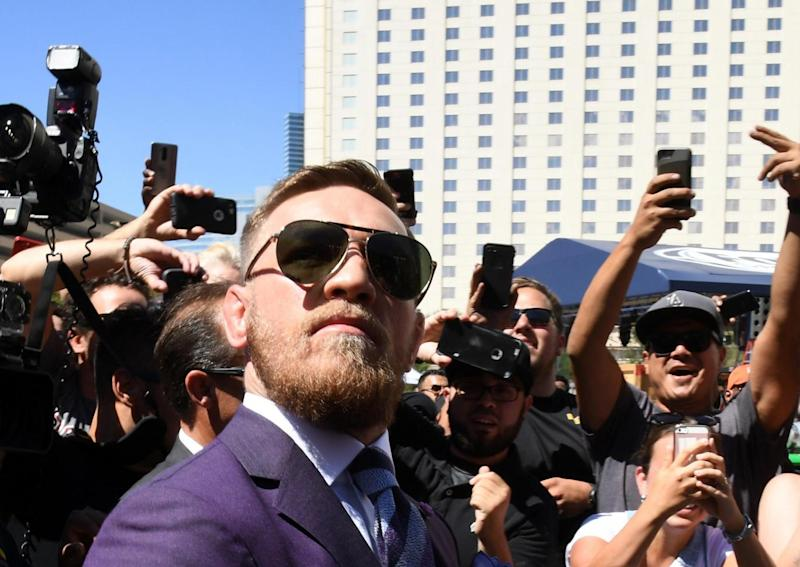 McGregor was in a combative mood (Getty)