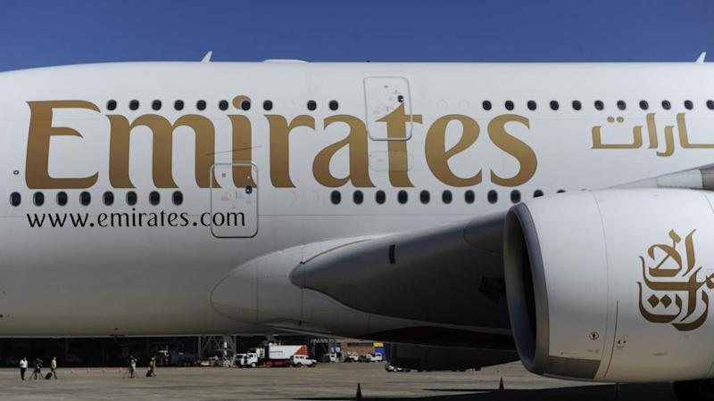 The failure of the landing gear on an Emirates Airbus A380 to deploy properly is being investigated.