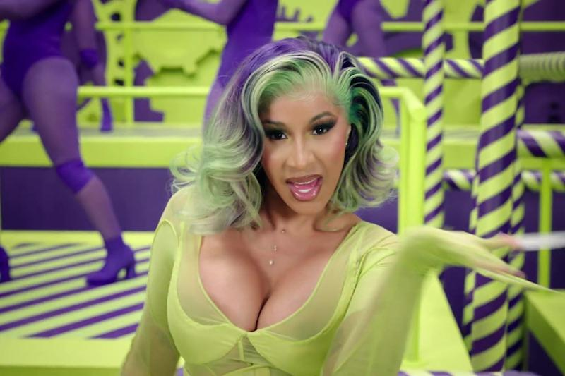 Cardi B has now filed for divorce (Atlantic Records)