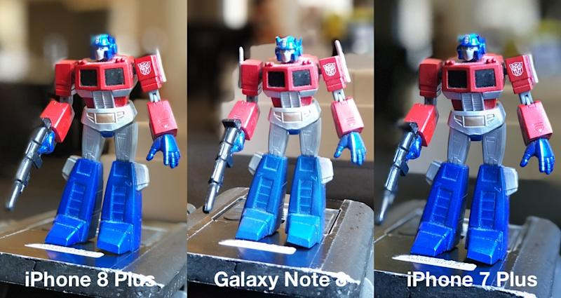 Iphone 8 Plus Vs Note 8 Vs Iphone 7 Plus Camera Comparison