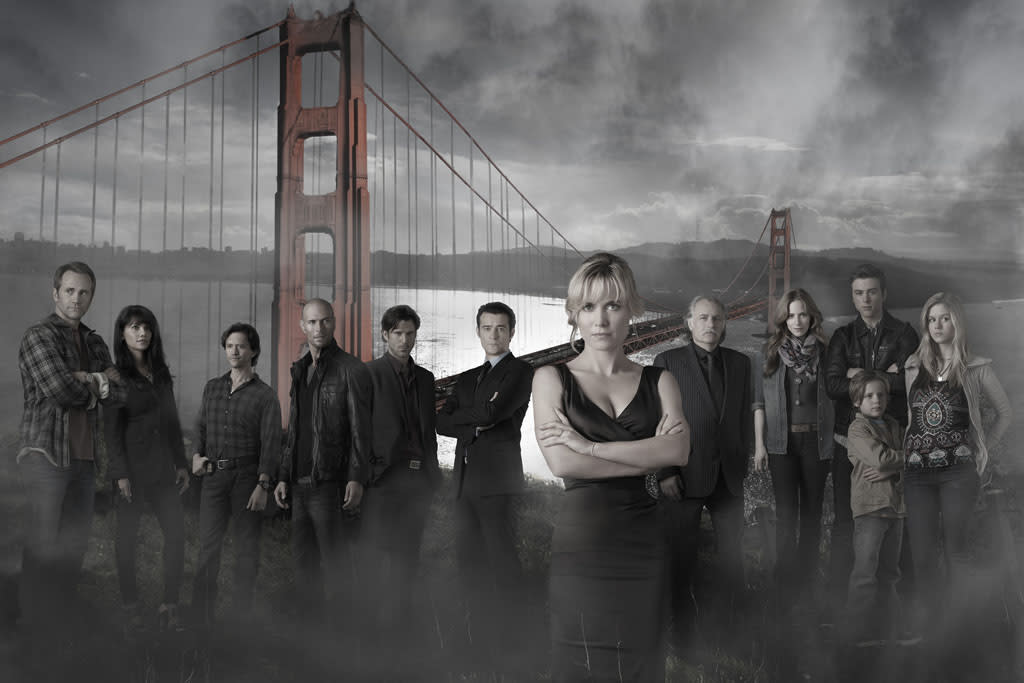 "ABC's ""Red Widow"" stars Lee Tergesen as Mike Tomlin, Suleka Mathew as Dina Tomlin, Clifton Collins, Jr. as FBI Agent James Ramos, Luke Goss as Luther, Wil Traval as Irwin Petrov, Goran Visnjic as Nicholae Schiller, Radha Mitchell as Marta Walraven, Rade Serbedzija as Andrei Petrov, Jaime Ray Newman as Kat Castillo, Sterling Beaumon as Gabriel Walraven, Jakob Salvati as Boris Walraven and Erin Moriarty as Natalie Walraven."