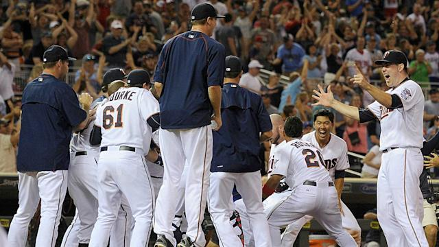 After a 103-loss season in 2016 there's only one way for the Twins to go, and that's up.