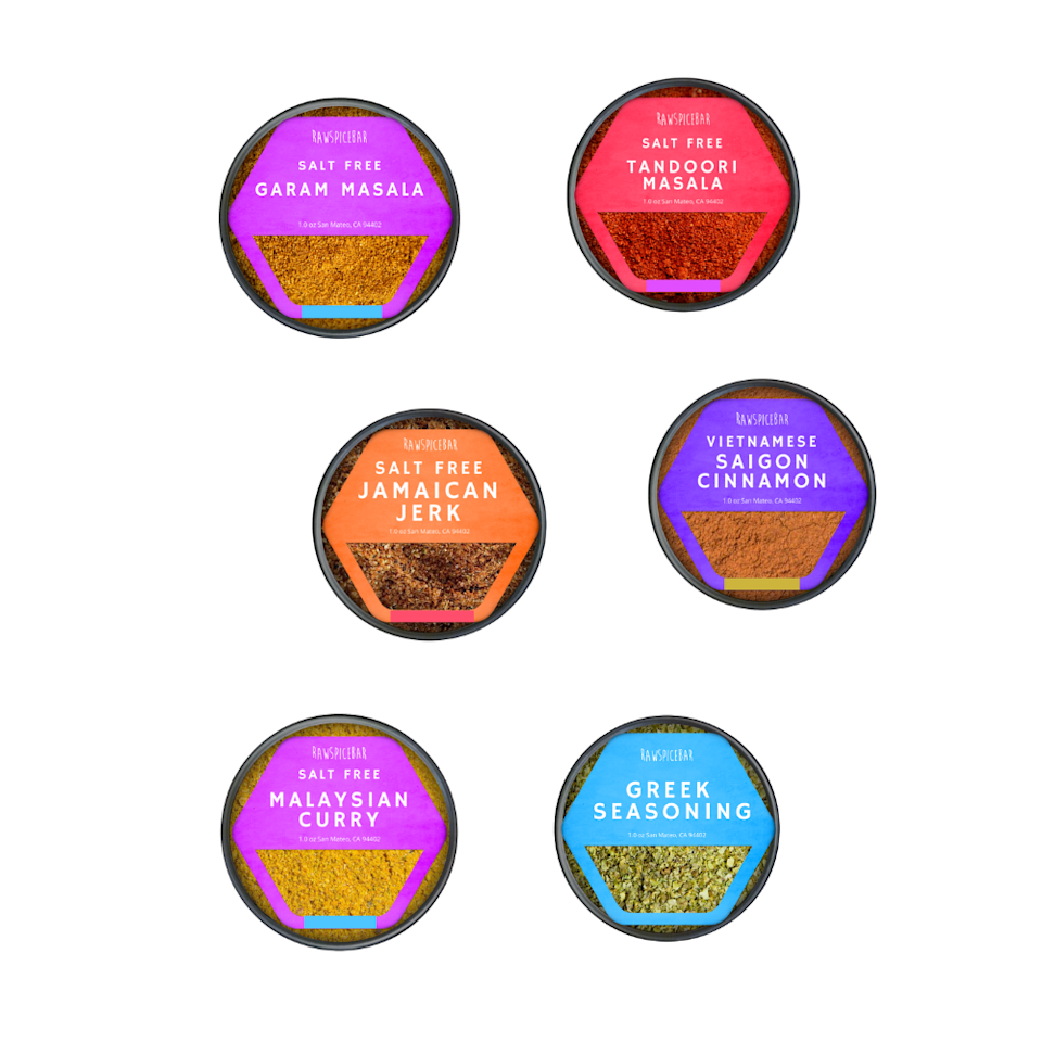 """<p><strong>Raw Spice Bar</strong></p><p>rawspicebar.com</p><p><strong>$120.00</strong></p><p><a href=""""https://go.redirectingat.com?id=74968X1596630&url=https%3A%2F%2Frawspicebar.com%2Fproducts%2Fspice-subscription-gift&sref=https%3A%2F%2Fwww.bestproducts.com%2Feats%2Ffood%2Fg2079%2Ftasty-food-gifts-for-foodies%2F"""" rel=""""nofollow noopener"""" target=""""_blank"""" data-ylk=""""slk:Shop Now"""" class=""""link rapid-noclick-resp"""">Shop Now</a></p><p>Inspire the people in your life who love to cook by gifting them a spice subscription from Raw Spice Bar. With either a 6- or 12-month subscription gift card, your recipient will get hand-blended, freshly ground, and globally inspired spices along with recipes.</p><p>Unlike many other spice subscriptions, Raw Spice Bar's spices and blends contain no salt, which makes this an awesome gift for the health-conscious chef.</p>"""