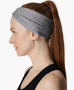 """<p><strong>Sweaty Betty</strong></p><p>Sweaty Betty</p><p><strong>$14.00</strong></p><p><a href=""""https://go.redirectingat.com?id=74968X1596630&url=https%3A%2F%2Fwww.sweatybetty.com%2Fus%2Fshop%2Faccessories%2Fhats-and-headbands%2Fcross-over-reflective-headband-SB6928_CharcoalGreyMarl.html%3Fcgid%3Dhats-headbands%26dwvar_SB6928__CharcoalGreyMarl_color%3Dcharcoalgreymarl%26tile%3D8.0%2523start%253D8&sref=https%3A%2F%2Fwww.cosmopolitan.com%2Fstyle-beauty%2Ffashion%2Fg37024274%2Fworkout-headbands%2F"""" rel=""""nofollow noopener"""" target=""""_blank"""" data-ylk=""""slk:Shop Now"""" class=""""link rapid-noclick-resp"""">Shop Now</a></p><p>Guys, this isn't just <em>any </em>type of headband. It has some really cool features like reflective accents so people can see you if you're exercising in low-lit areas<strong>. </strong>Plus, there's a designated hole to fit your ponytail through. </p>"""