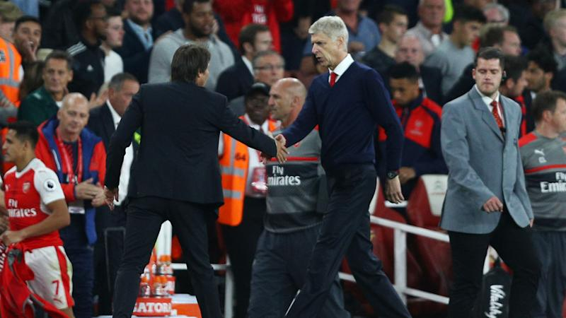 One team in London? Chelsea boss Conte responds to Wenger jibe regarding Alexis future