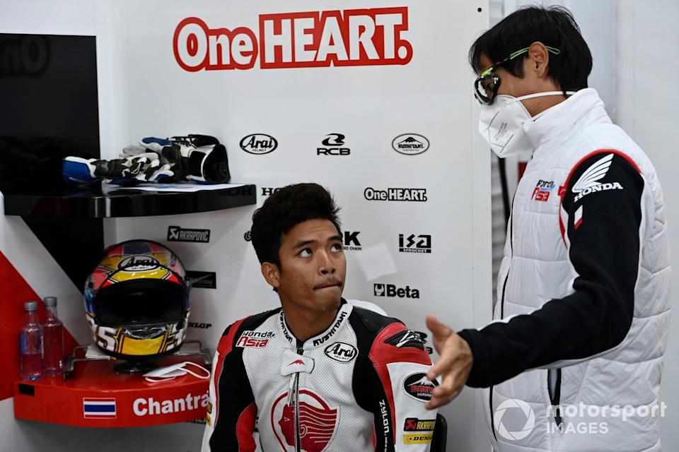 "Somkiat Chantra, Honda Team Asia<span class=""copyright"">Gold and Goose / Motorsport Images</span>"